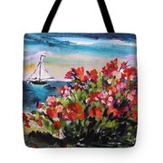 Beyond Sea Roses Tote Bag