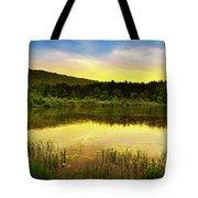 Beyond Sunset Landscape Tote Bag