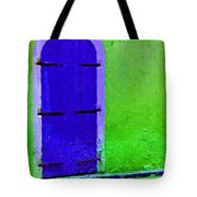 Beyond The Blue Door Tote Bag