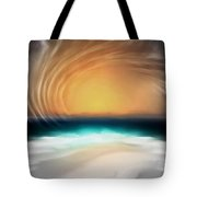 Beyond The Blue Horizon - Series 20 Tote Bag