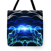 Beyond The Dark Clouds And Storms Tote Bag