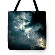 Beyond The Electric Fence Tote Bag