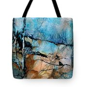 Beyond The Forest Line Tote Bag