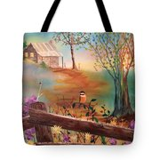 Beyond The Gate Tote Bag