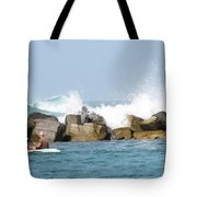 Beyond The Jetty Tote Bag