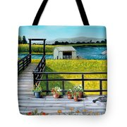 Beyond The Levee Tote Bag