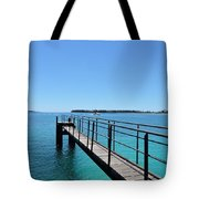 Beyond The Pier Tote Bag