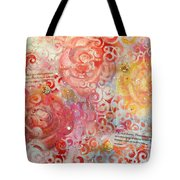 Beyond The Trellis Tote Bag