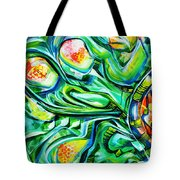 Beyond The Unknown - Left Tote Bag