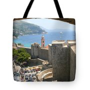 Beyond The Walls Of Old Dubrovnik Tote Bag