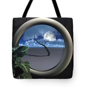Beyond Walls Tote Bag