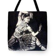 Bharatnatyam Tote Bag