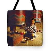 Bhutan Pilgrim Tote Bag