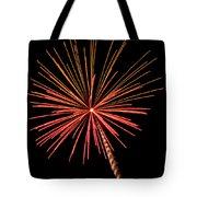 Bi-color Fireworks 2 Tote Bag
