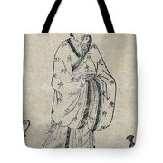 Bian Que, Ancient Chinese Physician Tote Bag