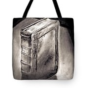 Bible Drawing While In The Crisis Center Tote Bag
