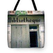 Bibliotheque Tote Bag