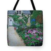 Bibury Garden Path Tote Bag