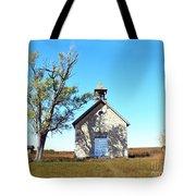Bichet School In Autumn Tote Bag