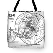 Bicycle, 1884 Tote Bag