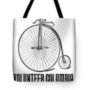Bicycle Advertisement, 1888 Tote Bag