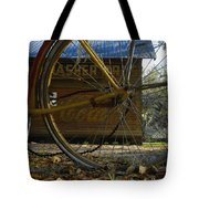 Bicycle At Micanopy Tote Bag
