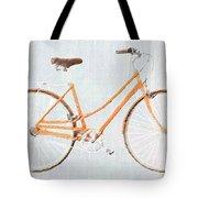 Bicycle Blues Tote Bag