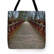 Bicycle Bridge - Niagara On The Lake Tote Bag
