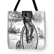 Bicycle, C1870s Tote Bag by Granger