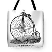 Bicycle Camera Ad, 1887 Tote Bag by Granger
