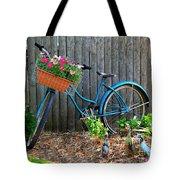 Bicycle Garden Tote Bag
