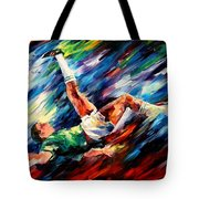 Bicycle Kick Tote Bag