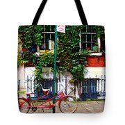 Bicycle Parking Sketch Tote Bag