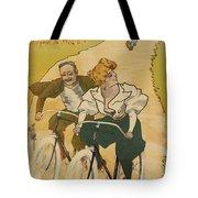 Bicycle Poster, 1895 Tote Bag