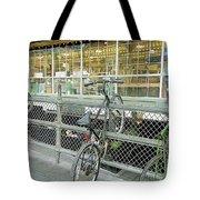Bicycle Rack Tote Bag