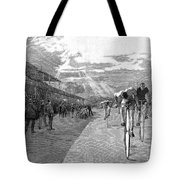 Bicycle Tournament, 1886 Tote Bag by Granger