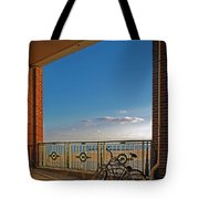 Bicycles Resting Tote Bag