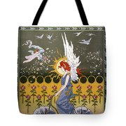 Bicycling, 1896 Tote Bag by Granger