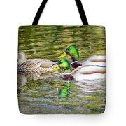 Bidwell Ducks In Fall Tote Bag
