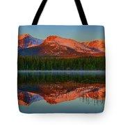 Bierstadt Alpenglow Tote Bag