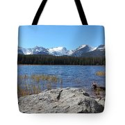 Bierstadt Lake In Rocky Mountain National Park Tote Bag