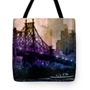 Big Apple Shadows Tote Bag