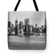 Big Apple Skyline Tote Bag