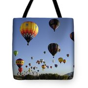 Big Balloons Tote Bag