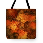 Big Band - Fiery Cloud Tote Bag