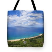 Big Beach Aerial Tote Bag