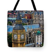 Big Ben And Westminster Abbey Tote Bag