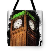 Big Ben In London Tote Bag