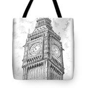 Big Ben London Tote Bag
