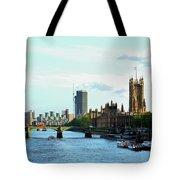Big Ben, Parliament And River Thames Tote Bag